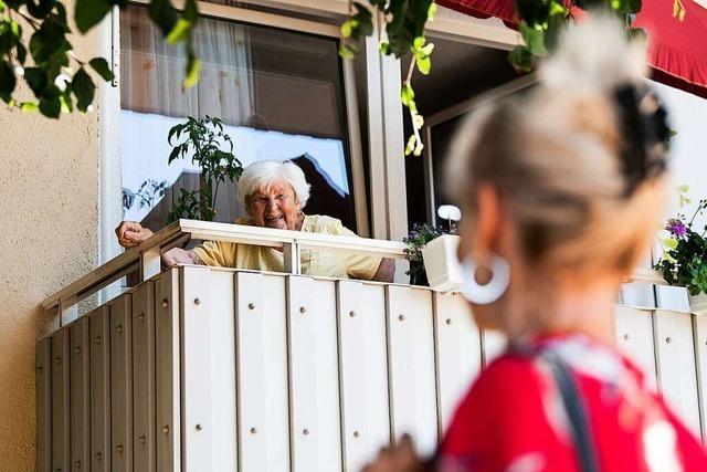 Die Bürger von Grenzach-Wyhlen wollen längere Besuchszeiten in den Pflegeheimen