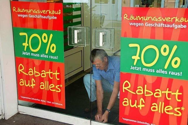 Kaufhaus Krauss in Emmendingen – Protokoll eines langsamen Endes