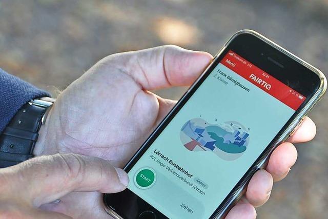 Fairtig: Regio Verkehrsverbund Lörrach führt neues Handyticket ein
