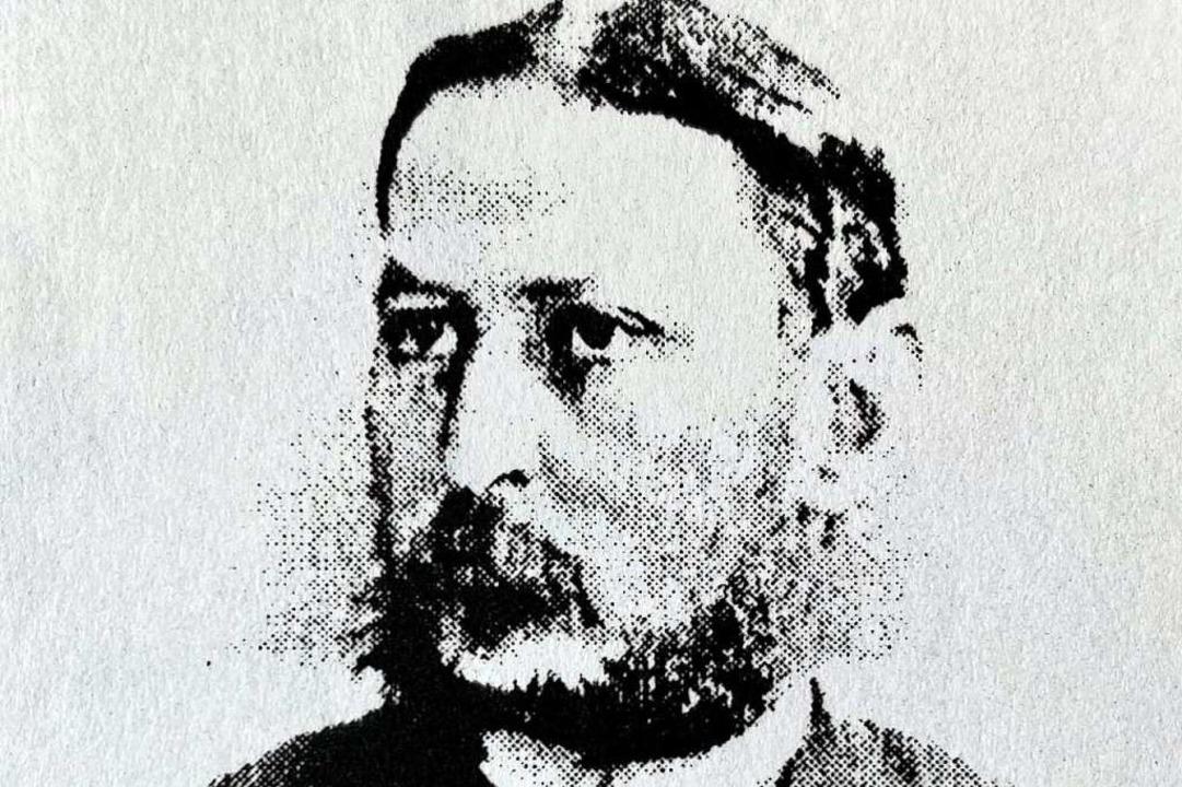 Ein Porträt Oskar Görgers     Foto: privat