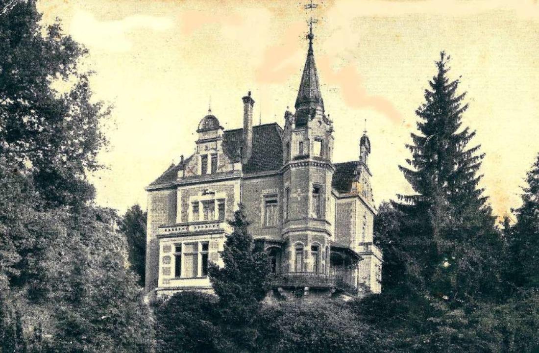 Oskar  Görgers Villa Willyama in Herde...ban, dann eine Seniorenresidenz und...    Foto: Archiv Hans Sigmund