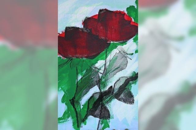 Hansi malt Rosen