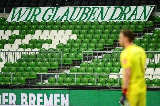 Werder Bremen steht vor einer Alles-oder-Nichts-Situation