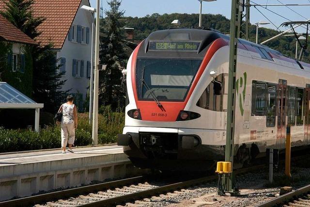 Für den Bahnausbau im Wiesental gibt es nun auch Geld aus Steinen