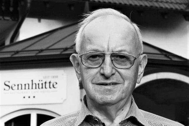 Der Sennhütten-Wirt Rolf Grether ist gestorben