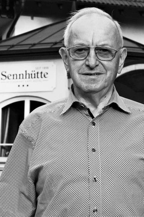 Im Alter von  81 Jahren verstorben: Rolf Grether  | Foto: Ralph Lacher