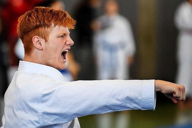 Karateka Marius Werz lernte sich in der Corona-Zeit zu organisieren