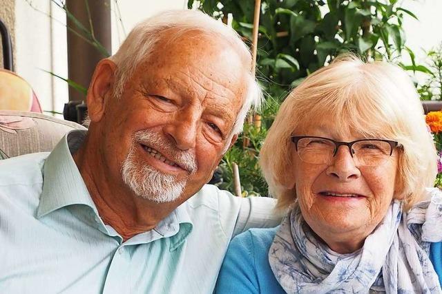 Hannelore und Werner Maier sind seit 60 Jahren ein Ehepaar