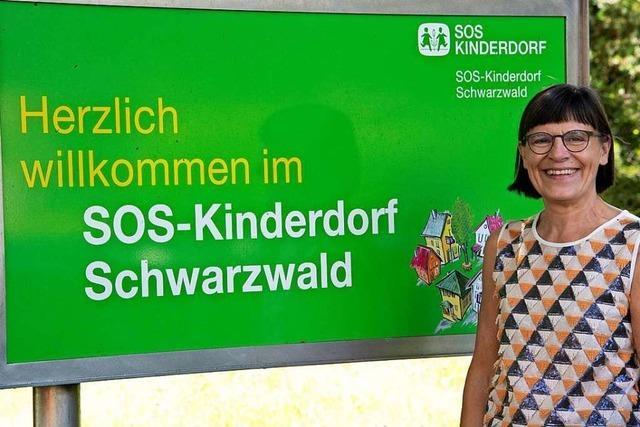 Leiterin Karin Schäfer vom SOS-Kinderdorf Sulzburg geht