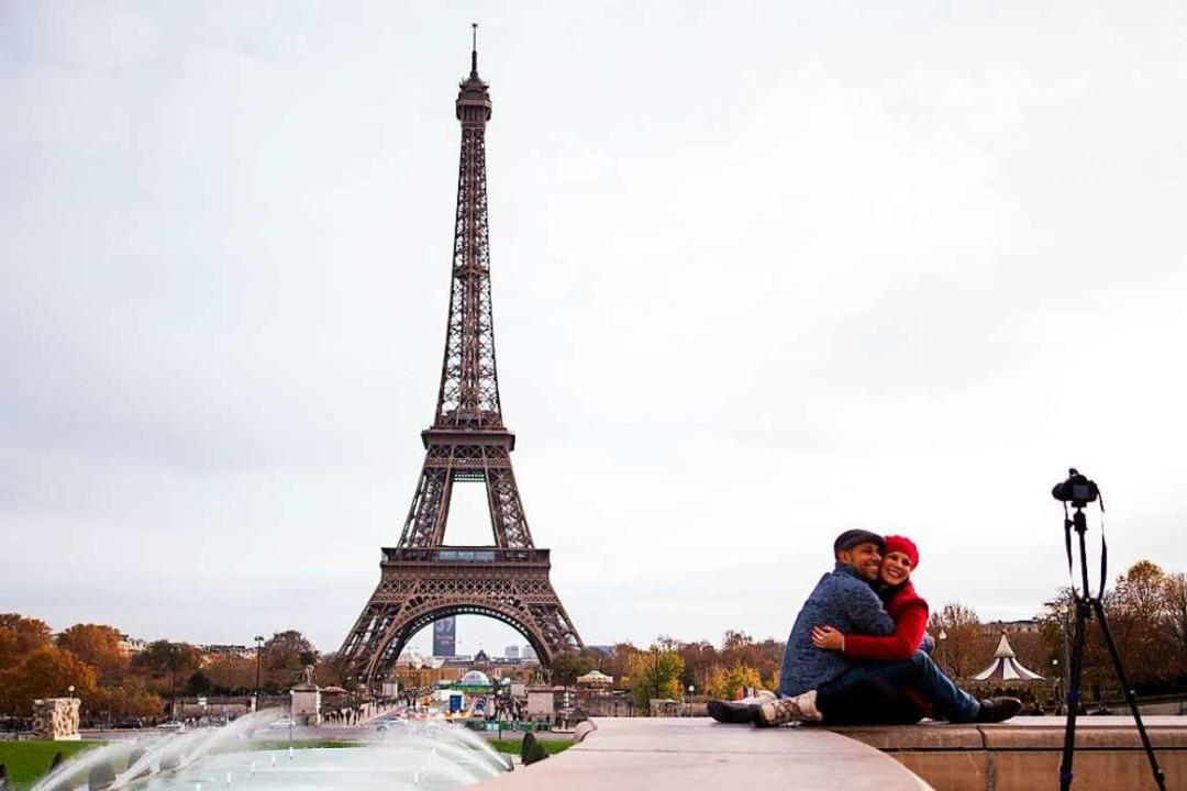 Der Eiffelturm ist das Wahrzeichen von Paris.  | Foto: Marius Becker