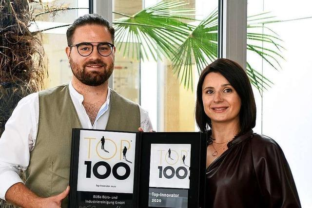 Zwei junge Freiburger wollen das Image der Putz-Branche retten