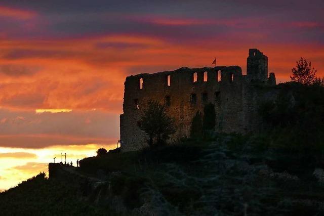 Die Staufener Burg wird ertüchtigt