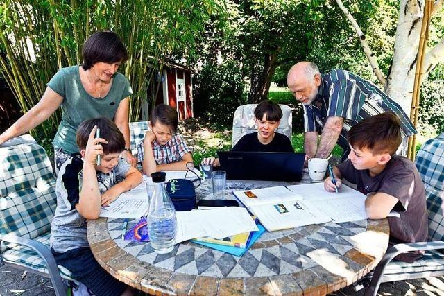 Freiburger Familie hat das Lernen zu Hause als Chance begriffen