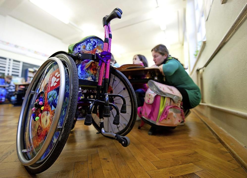 Eltern behinderter Kinder sind durch d...Corona-Krise an ihre Grenzen gekommen.  | Foto: Inga Kjer