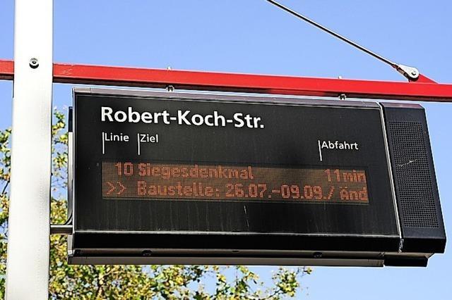 Digitalanzeige für Busse in Zell