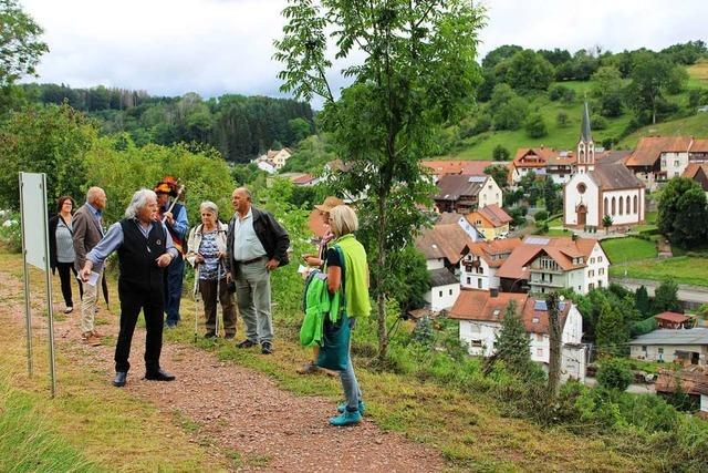 Themenweg in Dossenbach erinnert an ein Gefecht der Badischen Revolution