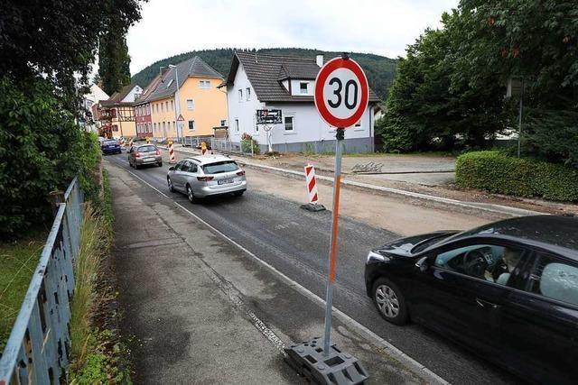 Die Stadt will Tempo 30 auf der Bundesstraße durch Kuhbach und Reichenbach