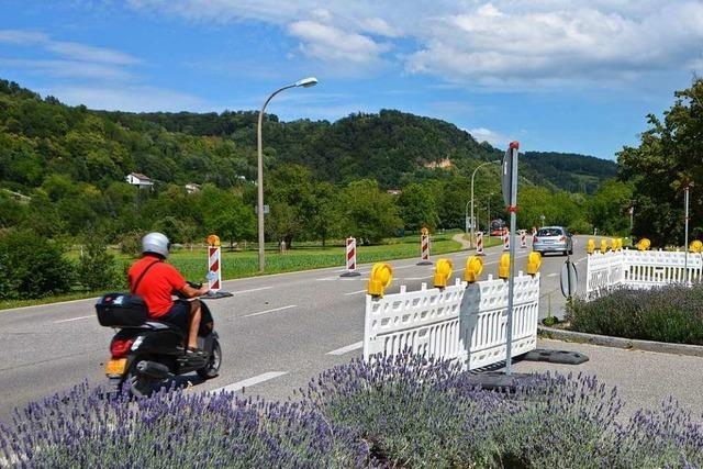 Kreisverkehr ersetzt geplante Kreuzung am Gmeiniweg