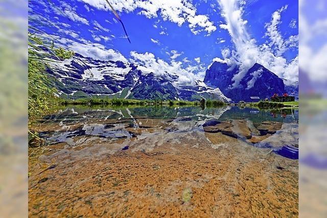 Alpenromantik in der Schweiz