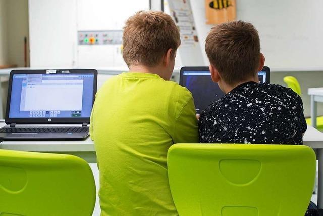 Die Digitalisierung an den Schulen hinkt weit hinterher
