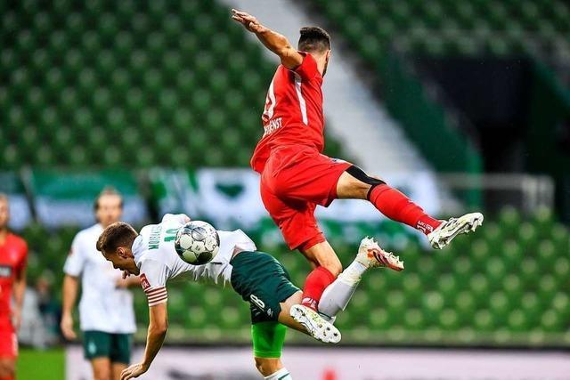 Das Zittern geht weiter: Werder schafft im Hinspiel nur ein 0:0