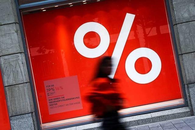 Wird die Senkung der Mehrwertsteuer an die Kunden weitergegeben?