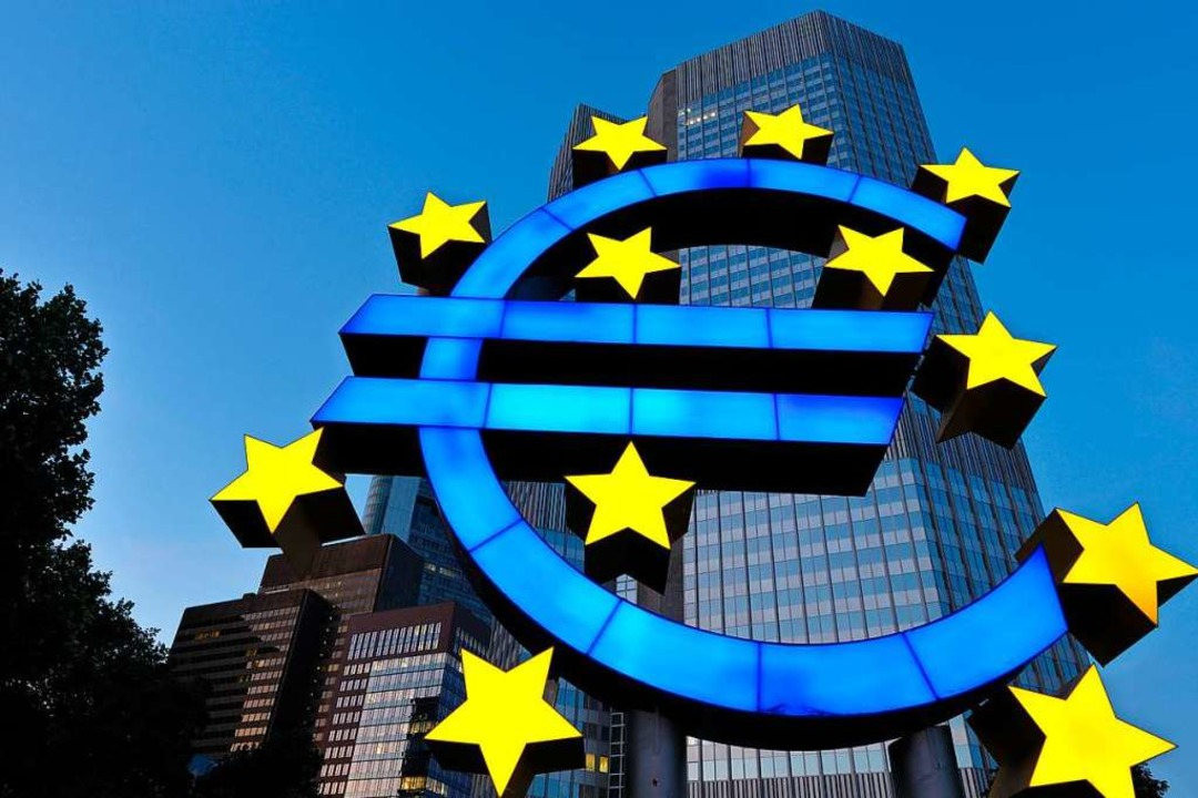 Die EZB steht in der Kritik.    Foto: Uwe Anspach