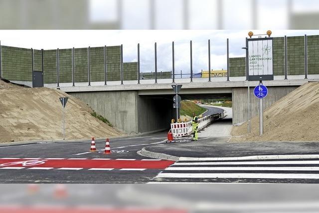 Unterführung Vogesenstraße wieder geöffnet