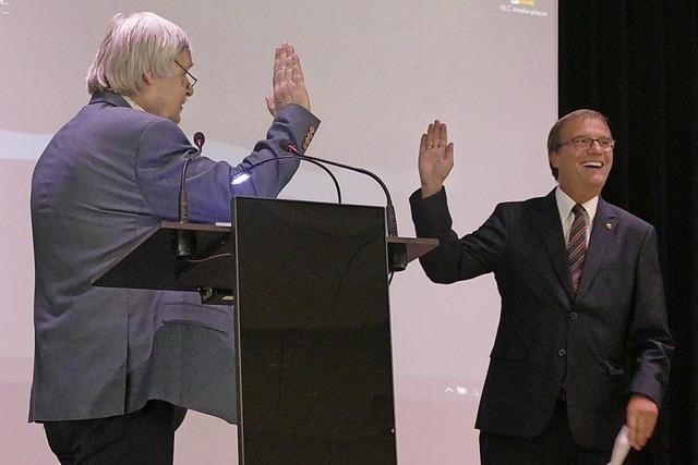 Oberbürgermeister startet in seine zweite Amtszeit