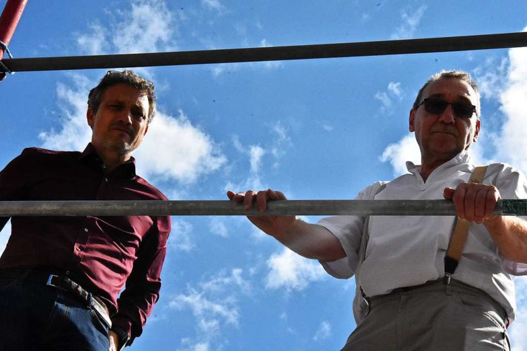 Marco Jansen (links) und Bernhard Paul    Foto: Kathrin Ganter