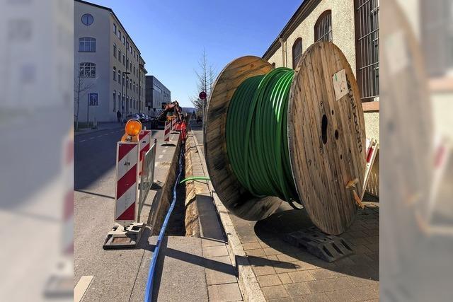 Glasfaserausbau schreitet voran
