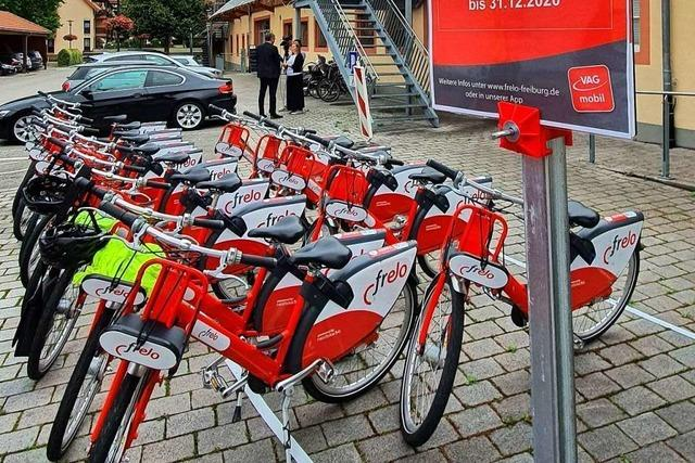 In Umkirch steht die erste Frelo-Station außerhalb der Stadt Freiburg