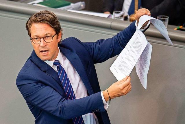 Wie CSU-Verkehrsminister Scheuer versucht, die Fahrverbote für Raser rückgängig zu machen