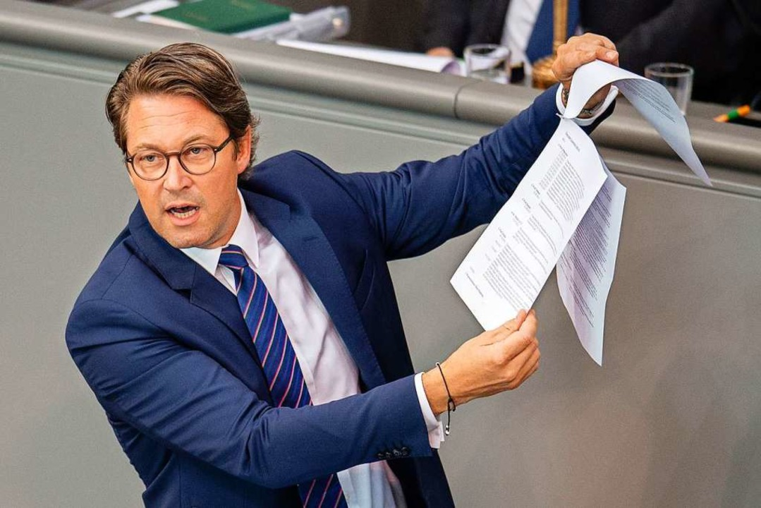 Andreas Scheuer (CSU)  | Foto: Lisa Ducret (dpa)