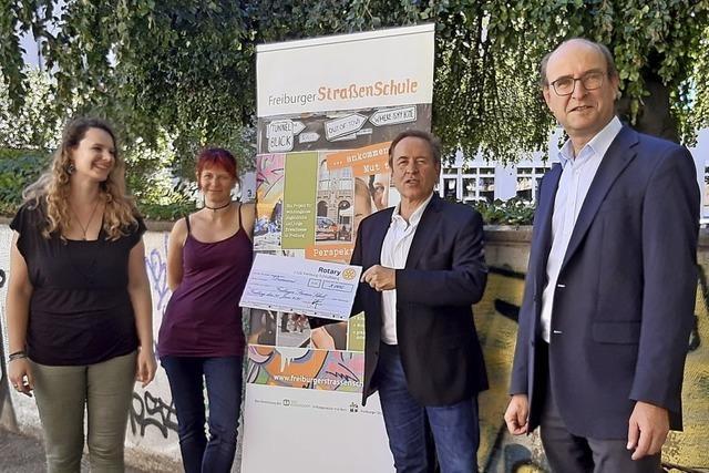 3000 Euro für Straßenschule