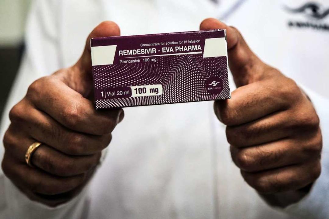 Ob dieses Medikament  tatsächlich Leben retten kann, ist bislang nicht bewiesen.  | Foto: Fadel Dawood (dpa)