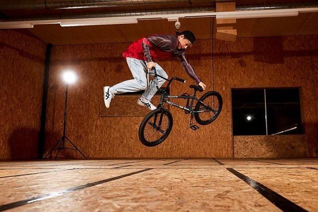 Lörracher BMX-Freestyler will neuen Weltrekord aufstellen