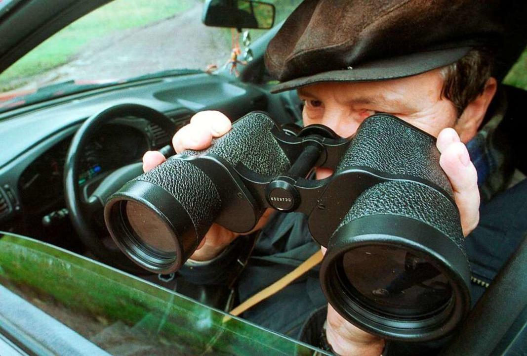 Ein selbsternannter Privatdetektiv bez...en kann die Justiz dem Mann aber nicht    Foto:  DPA Deutsche Presse-Agentur GmbH