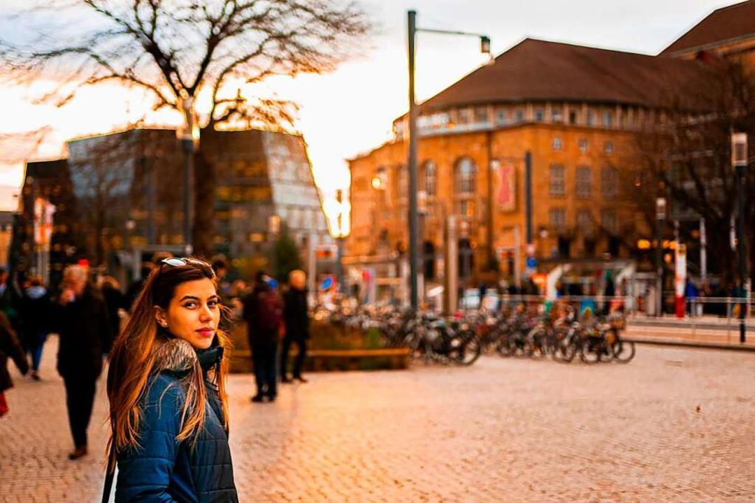 Seit Oktober 2019 ist Rosaura Morales ...rt zu studieren und Deutsch zu lernen.  | Foto: privat