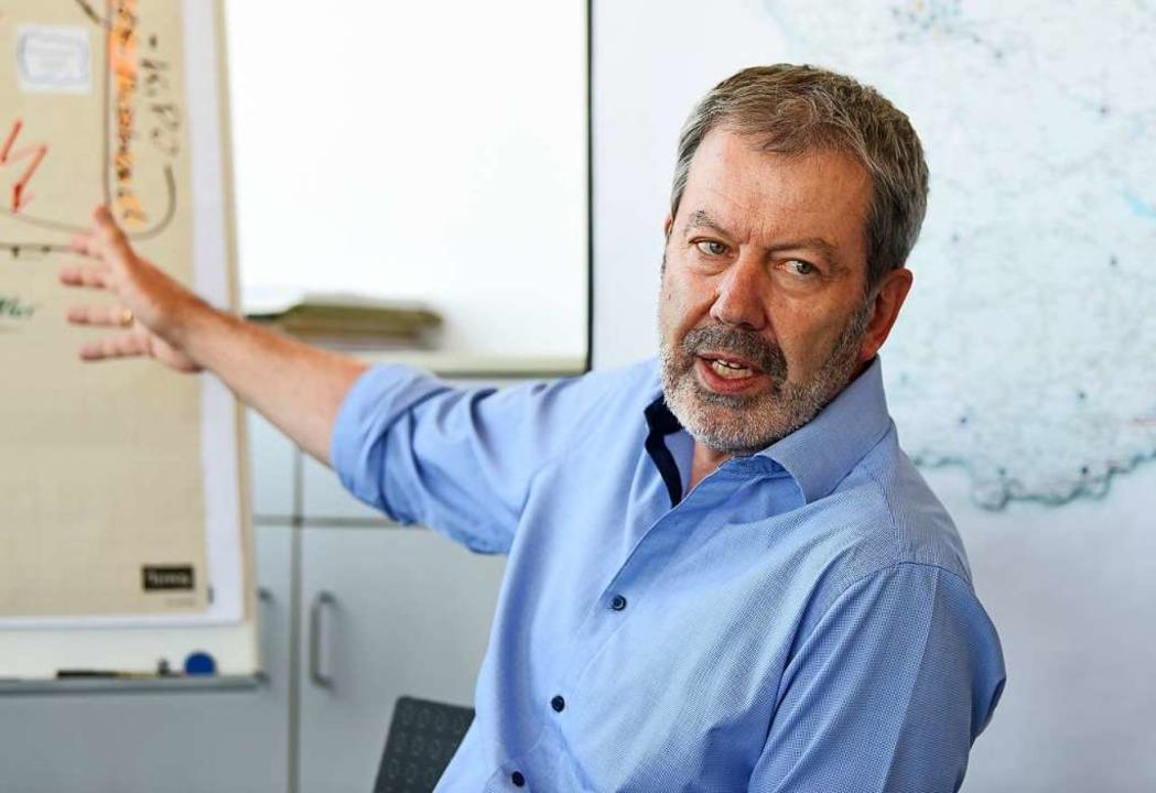 Als  Experte der Praxis sprach Peter E...ogenannte Keuschheitsprobe zu liefern.  | Foto: Rita Eggstein