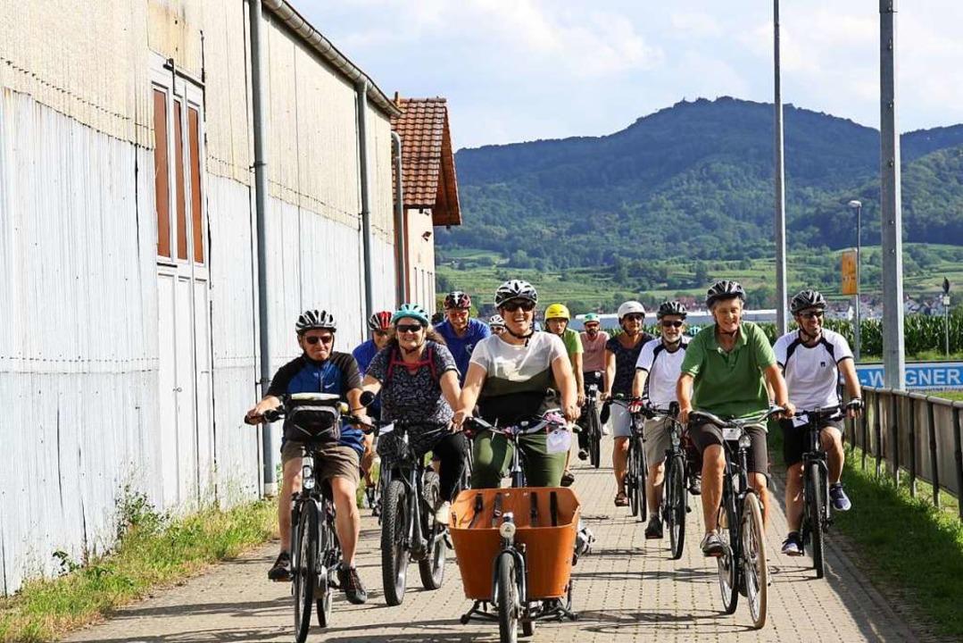 Radeln für den Klimaschutz heißt es in...Freitag mit einer gemeinsamen Radtour.    Foto: Christiane Franz