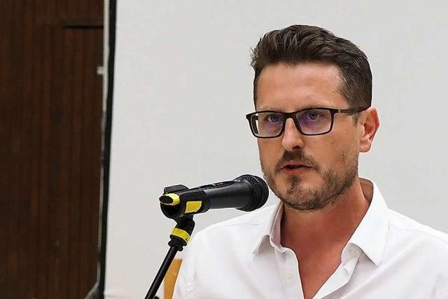 FDP-Kandidat Tino Ritter spricht vom Direktmandat