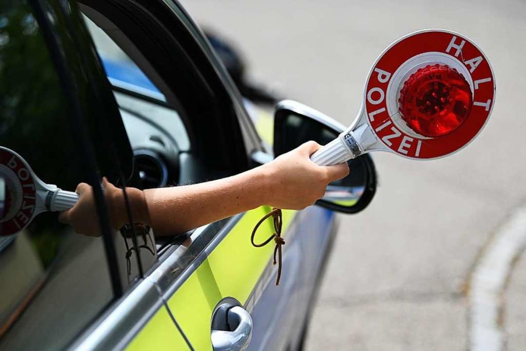 Mit 2,12 Promille wurde eine Autofahrerin erwischt.  | Foto: Jonas Hirt