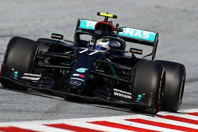 Valtteri Bottas gewinnt den Neustart der Formel 1 in Spielberg