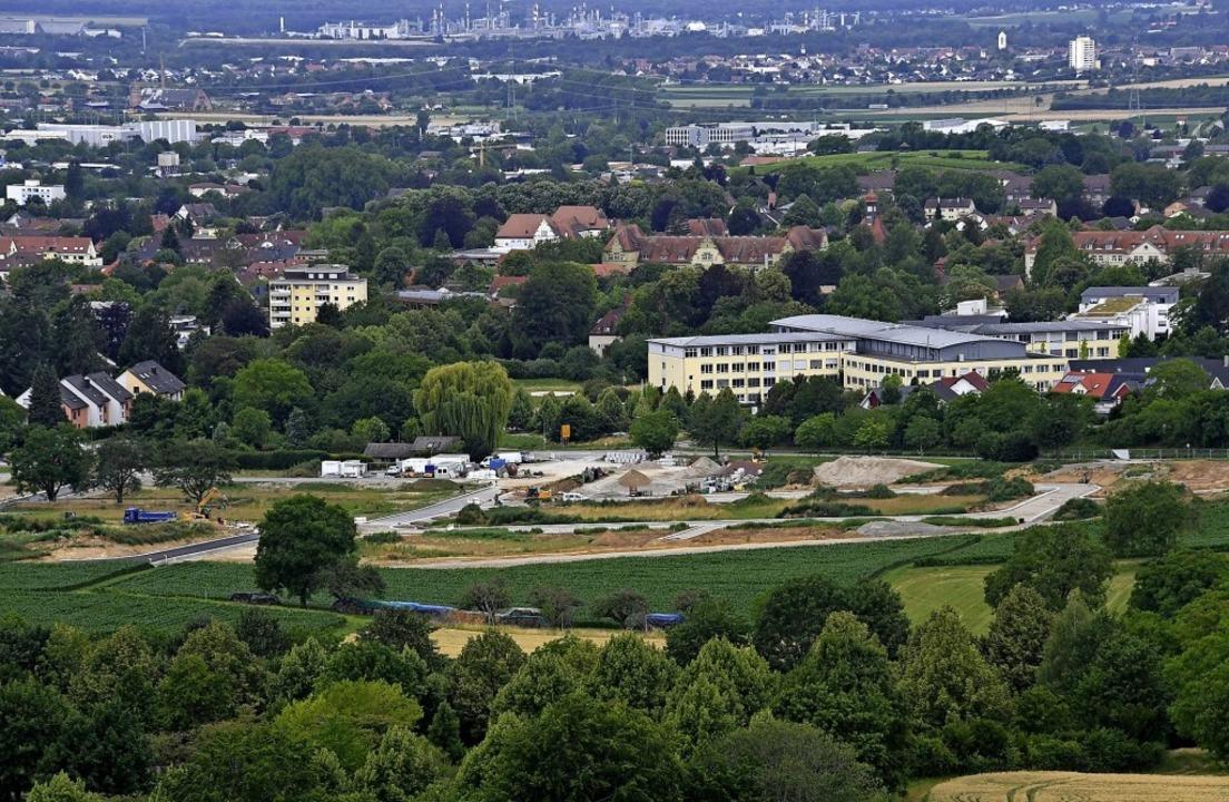 Der Mülheimer Gemeinderat beschloss di... Zuordnung des Gebiets zur Kernstadt.   | Foto: Volker Münch