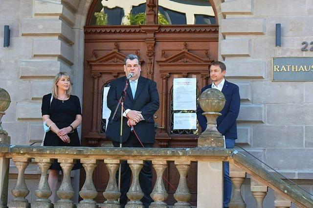 Schönaus Bürgermeister Peter Schelshorn im Amt bestätigt
