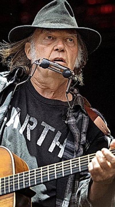 Neil Young  | Foto: Nils Meilvang (dpa)