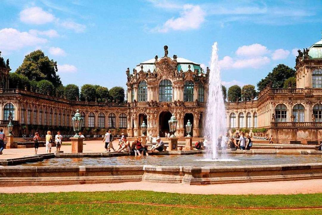Der Zwinger, Teil des berühmten Dresdner Barockensembles  | Foto: Sylvio Dittrich