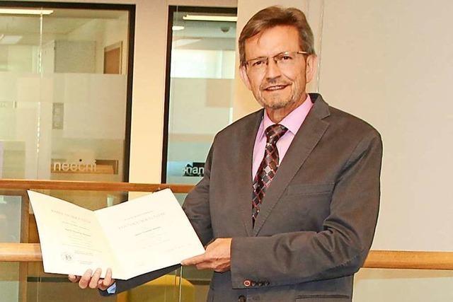 Ruster Kämmerer Thomas Sauter seit 40 Jahren im öffentlichen Dienst