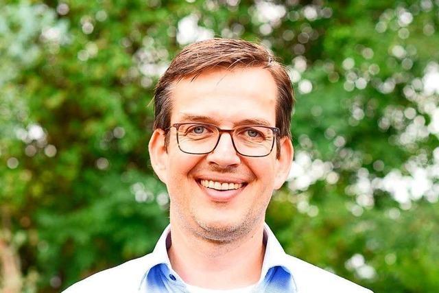 Alexander Eschbach aus Malterdingen tritt gegen Jutta Zeisset an